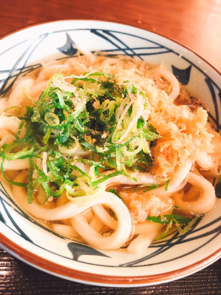 丸亀製麺のド定番じゃ~