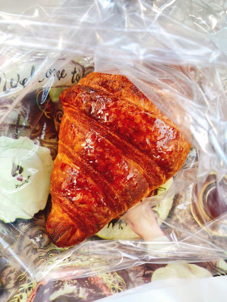 丸亀製麺+クロワッサン!?ランチじゃ~